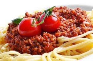 spaghetti bolognese foto