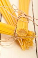 stelletje Italiaanse pasta type foto