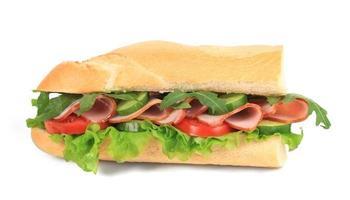 Frans stokbrood vers broodje. foto