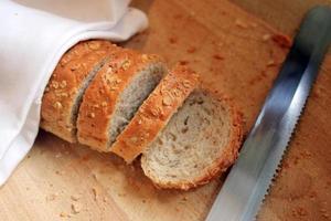 Frans stokbrood op buffetlijn