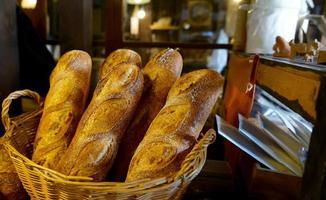 stokbrood zojuist gemaakt foto