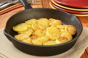 gebakken gele pompoen