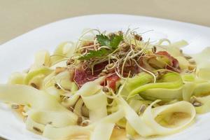 Courgette Salade foto