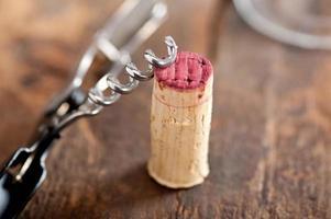 rode wijnproeverij foto