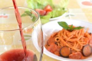 tomatensaus pasta foto