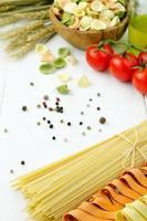 verscheidenheid aan pasta