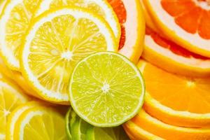 citrus achtergrond