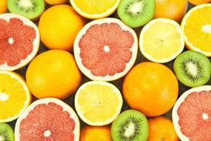 diverse soorten fruit foto