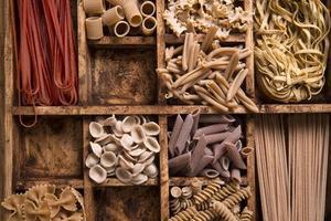 volkoren pasta foto
