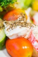 close up salade