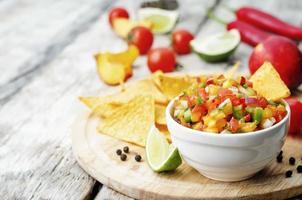 perzik salsa foto