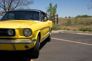 zomer auto foto
