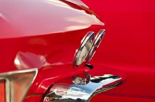 rood spatbord foto