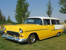 Chevy nomade uit de jaren 50 foto