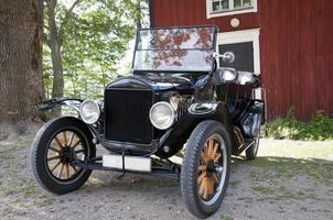 antieke auto foto