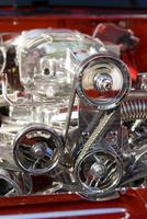 hot rod motor foto
