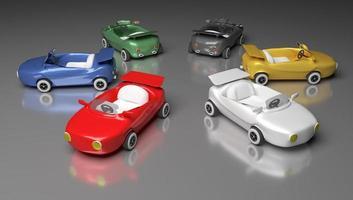 speelgoedauto's foto