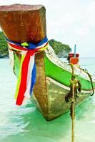 hoofd van de boot foto