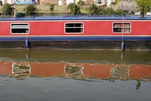 narrowboat op hungerford. Berkshire. Engeland