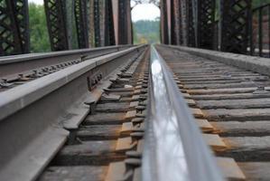 Trein rails foto