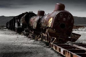 trein begraafplaats