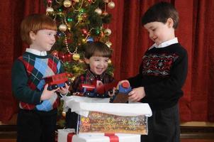kerst trein foto