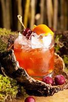 ouderwetse cocktail foto