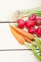 rauwe wortelgroente
