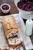 cranberry cake foto