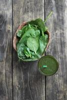 spinazie smoothie foto