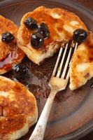 cottage cheese pannenkoeken foto
