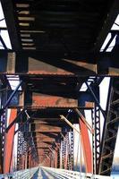 spoorwegbrug foto