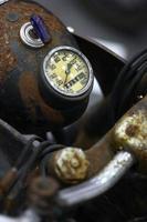 motorfiets snelheidsmeter