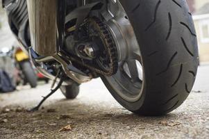 motorfiets ketting foto