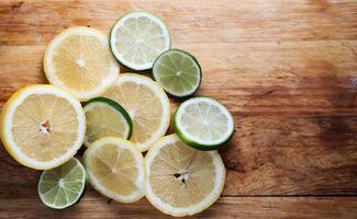 verse rijpe citrusvruchten foto