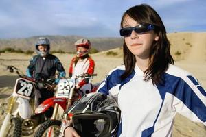 motorcross racers foto