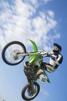 vliegende moto foto