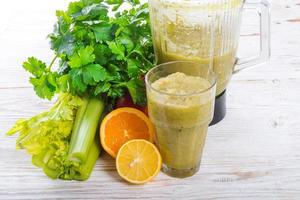 smoothie groenten foto