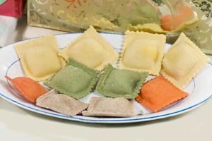 zelfgemaakte Italiaanse pasta foto
