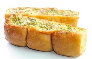 knoflook en kruidenbrood foto