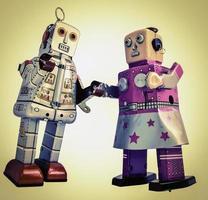 robot romantiek foto