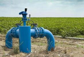 Irrigatie systemen foto