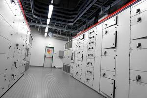 controlekamer van een elektriciteitscentrale