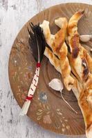 pizza broodstengels. foto