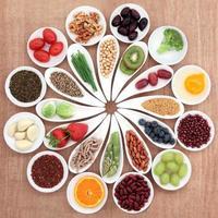 gezondheid van voedsel schotel foto