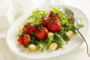 gegrilde tomaten foto