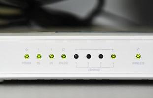 ADSL wifi router modem