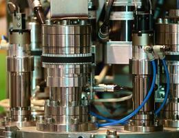 industrieel materiaal. machine foto
