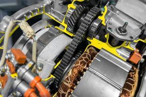 geopende schakelapparatuur van een auto