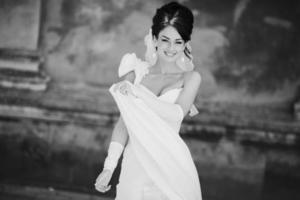 bruid foto